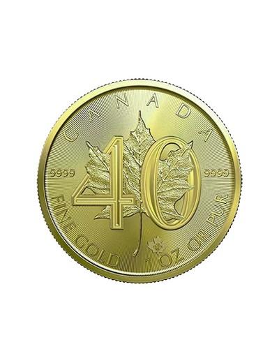 Liść Klonowy 40 lecie 1 uncja