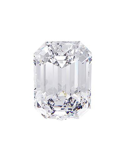 Diament emerald 0,50 ct GVS1