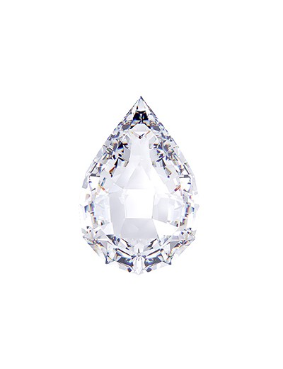 Diament gruszka 0,70 ct D IF