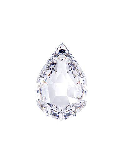 Diament gruszka 1,00 ct D IF