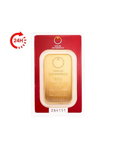 Sztabka Złota 100 gramów