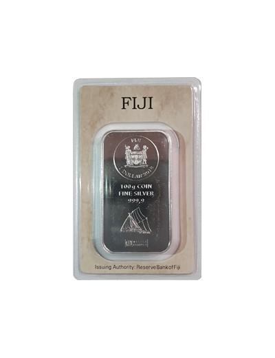 Sztabka srebra Fiji 2018
