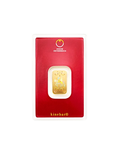 Sztabka złota Kinebar 5 gramów