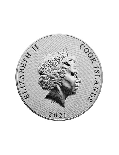 Srebrna moneta Cook Islands