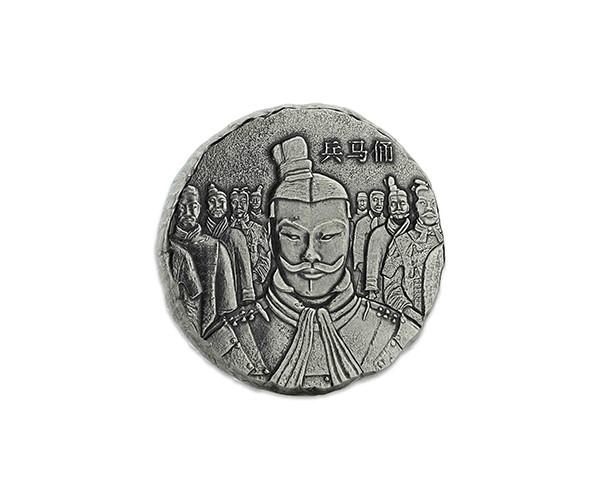 Srebrna moneta Terakotowa Armia