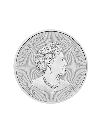 moneta srebrna Platypus