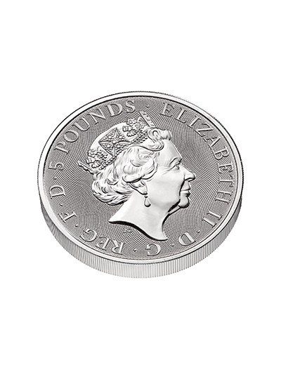 Srebrna moneta Bestie Królowej