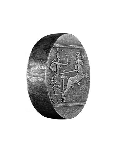 Srebrna moneta Rydwany Wojny