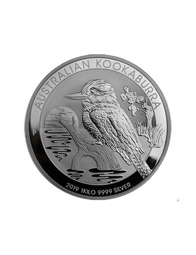 Kookaburra 1 kg Srebrna Moneta