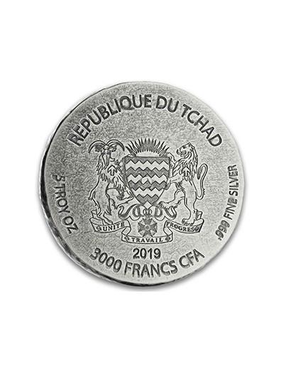srebrna moneta Sfinks Hatszepsut