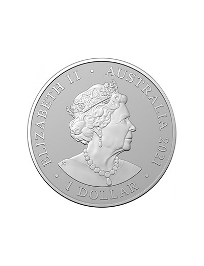 Srebrna moneta Gepard