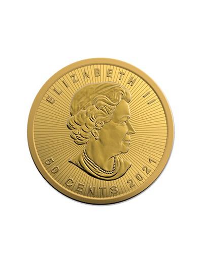 Złota Moneta Liść Klonowy 1 gram