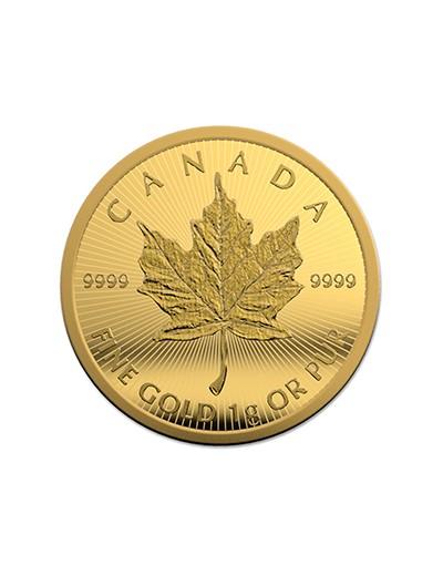 Złota Moneta Liść Klonowy 1 g