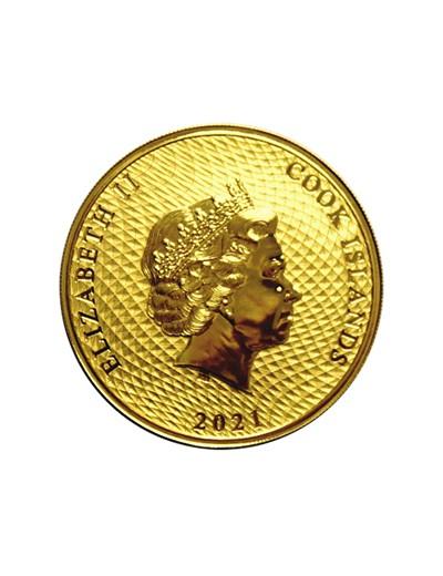 złota moneta Bounty Wyspy Cooka
