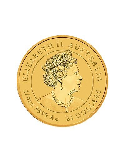 złota moneta rok tygrysa