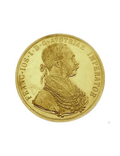 4 Złote Dukaty Austriackie...