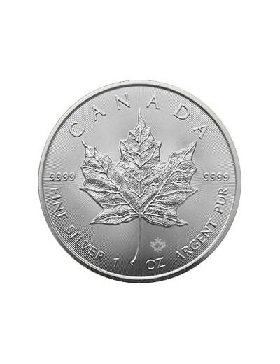 100 x Srebrna Moneta Liść...