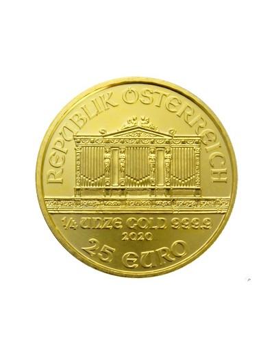 1/4 uncji złota Wiedeński...