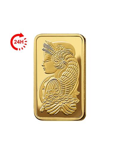 Sztabka złota 2,5g PAMP...