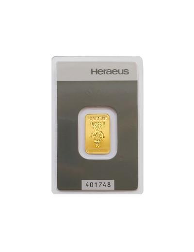 Sztabka złota 5 gramów