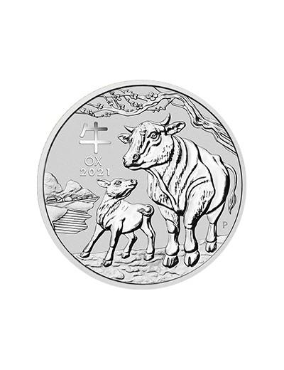 Rok Wołu 2021 1kg srebra