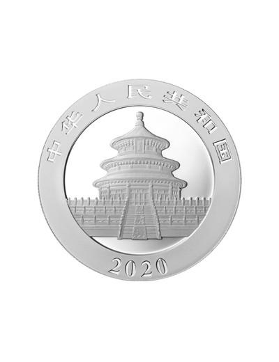 Panda Chiny 2020 30 gramów...
