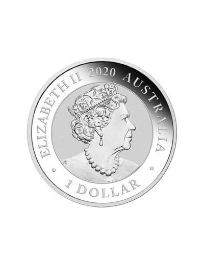 Srebrna moneta Australijski Łabędź