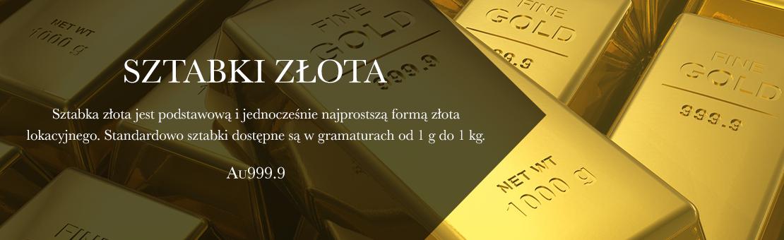 Podstawowa forma złota inwestycyjnego