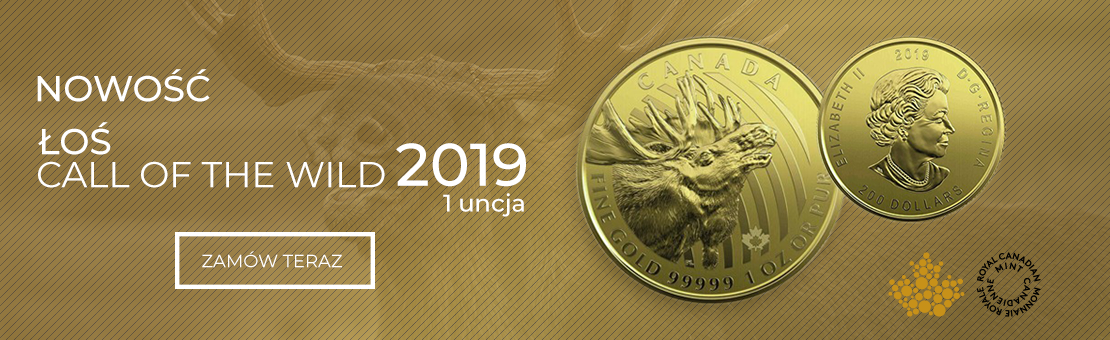 Call of the Wild Łoś 2019 1 uncja